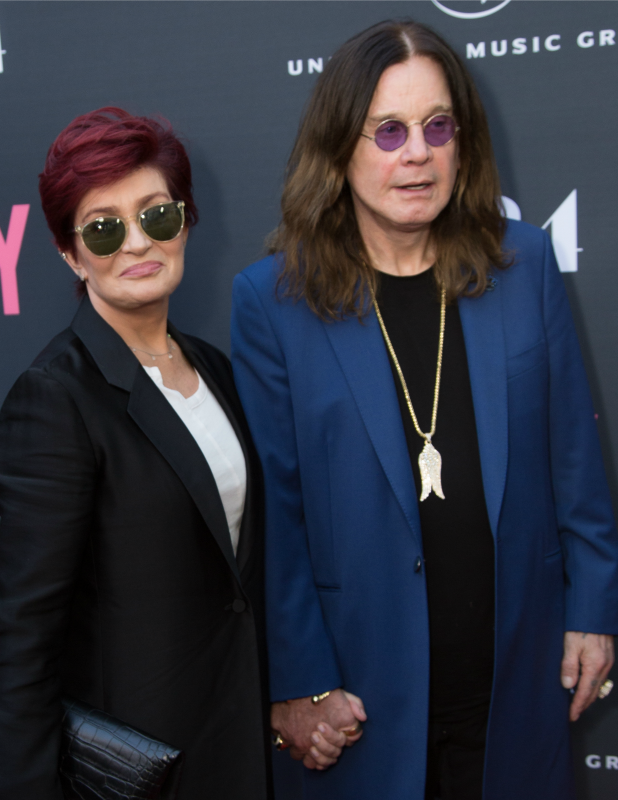 'Amy' premiere at ArcLight Cinemas Sharon and Ozzy Osbourne, 2015