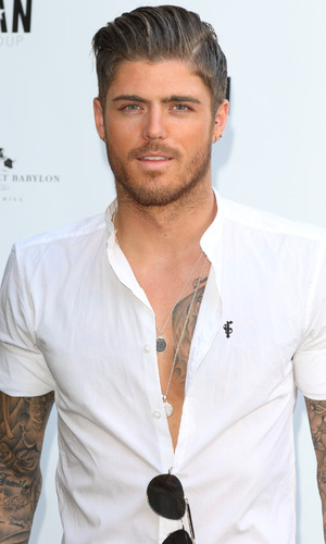 Sam Reece attends Amy Childs Summer collection showcase at Beach Blanket Babylon, Notting Hill, London