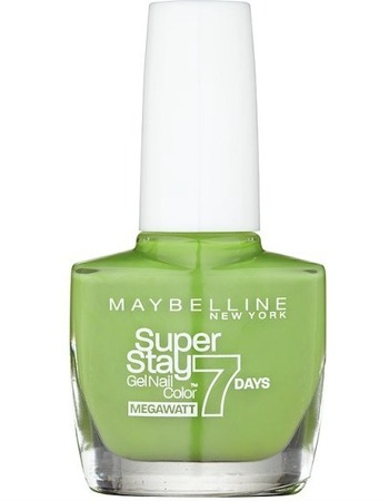 Maybelline SuperStay 7 Days Gel Nail Polish in Lime Me Up