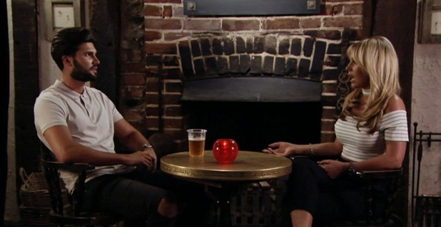 TOWIE: Dan Edgar and Kate Wright 10 August