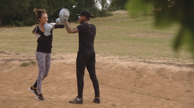 TOWIE: Megan starts boxing 10 August 2016