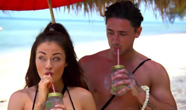 Jess Impiazzi and Stephen Bear, Ex On The Beach 10 August
