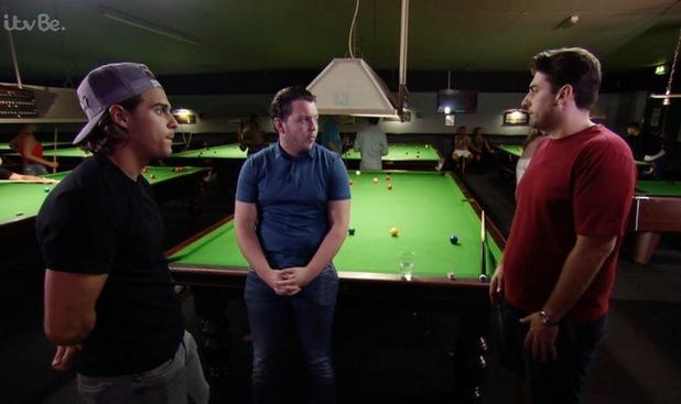 TOWIE: Jon Clark and Diags clash over Dan Edgar 10 August