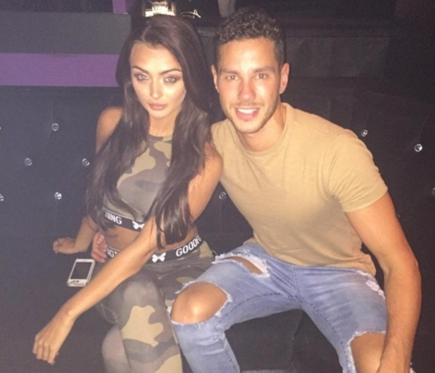 Scott Thomas and Kady McDermott sefie, Instagram 6 August