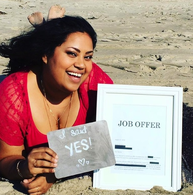 Benita Abraham came up with a hilarious way of sharing her job news on social media