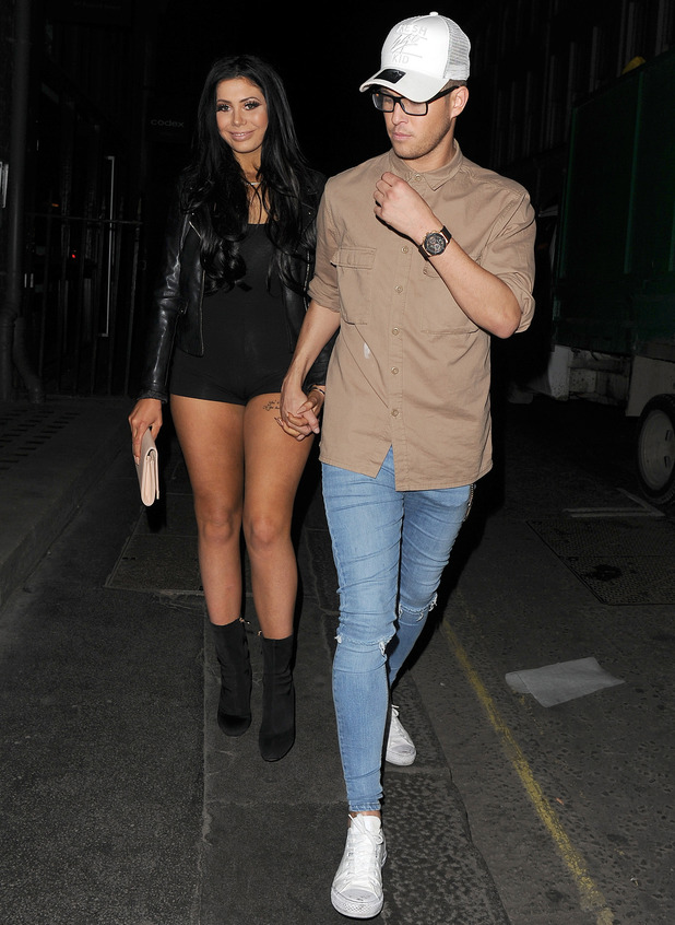 Chloe Ferry and Marty McKenna, London 24 May
