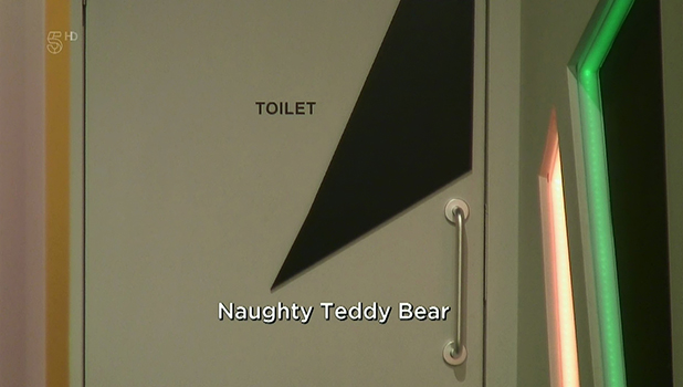 Stephen Bear and Chloe Khan appear to have sex in the toilet on 'Celebrity Big Brother. Broadcast on Channel 5HD