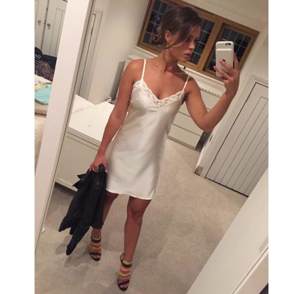TOWIE star Chloe Lewis wears Missy Empire in Instagram selfie, 8th August 2016