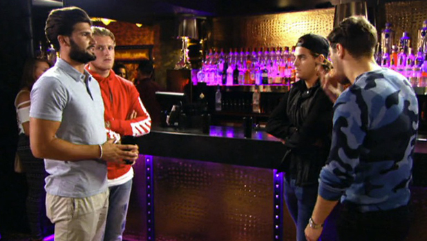 TOWIE: Jon and Dan argue 7 August 2016
