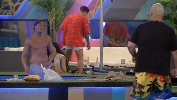 CBB Day 10: Lewis and Heavy D row over alcohol supply 7 August 2016
