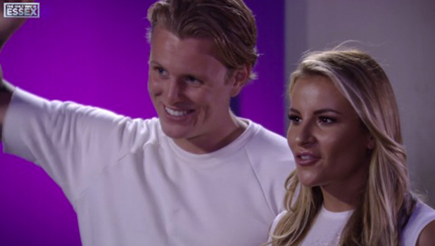 TOWIE: Cara de la Hoyde and Nathan Massey make their debut with Georgia Kousoulou and Tommy Mallet 12 August 2016