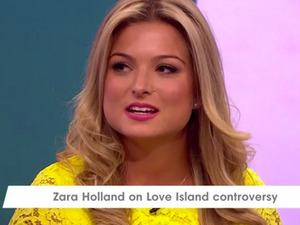 Zara Holland appears on Loose Women, 18 August 2016