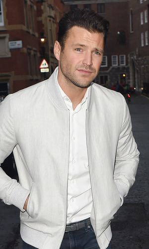 Mark Wright at ITV Summer Garden Party at Westminster Abbey, 28/6/16