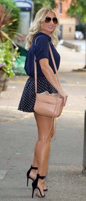 The Only Way Is Essex's Billie Faiers outside the ITV Studios in London, 18th August 2016