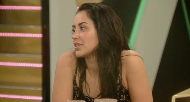 Marnie Simpson talks about Geordie Shore's Aaron Chalmers on CBB 17 August