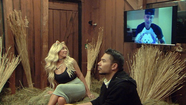 CBB: Aubrey O'Day gets a video message from boyfriend Pauly D 18 August