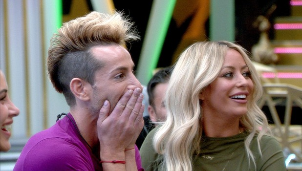 CBB: Frankie receives video message from sister Ariana Grande 19 August