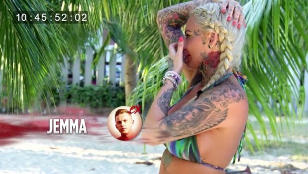 Jem Lucy breaks down in tears after arrival of ex David Hawley, Ex On The Beach 5 16 August