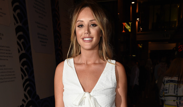 Charlotte Crosby out in Manchester 24 July