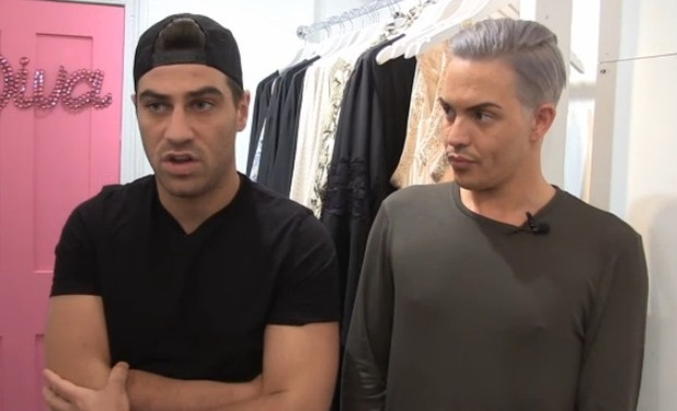 Jon Clark and Bobby Norris, TOWIE video 15 August