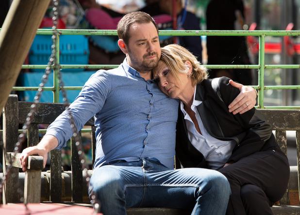 EastEnders, Mick comforts Shirley, Thu 18 Aug