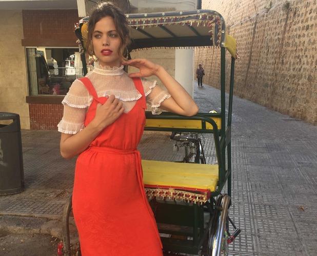 Model Elsa in Ibiza 19th Aug 2016