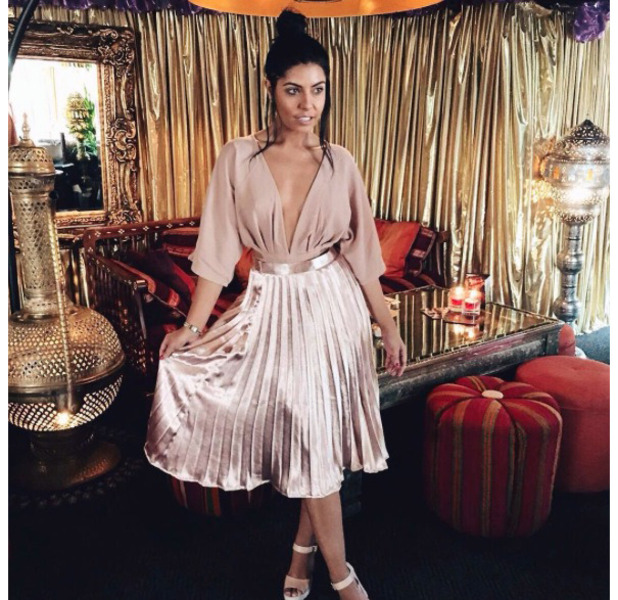 Love Island's Cara De La Hoyde wears Missy Empire, Instagram, 16th August 2016