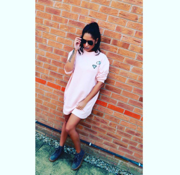 Love Island star Malin Andersson wears Missguided, Instagram, 18th August 2016