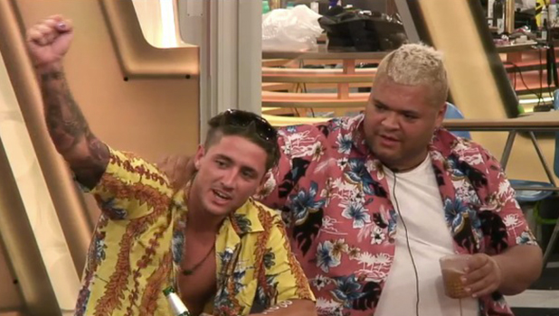 CBB: Bear and Haavy D react to School of Big Brother Year Book 15 August 2016