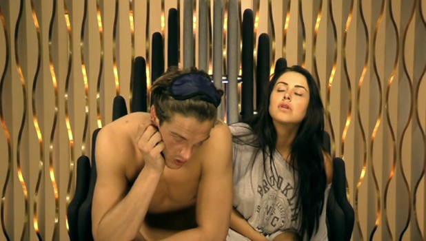 CBB: Marnie and Lewis in the Diary Room 15 August 2016