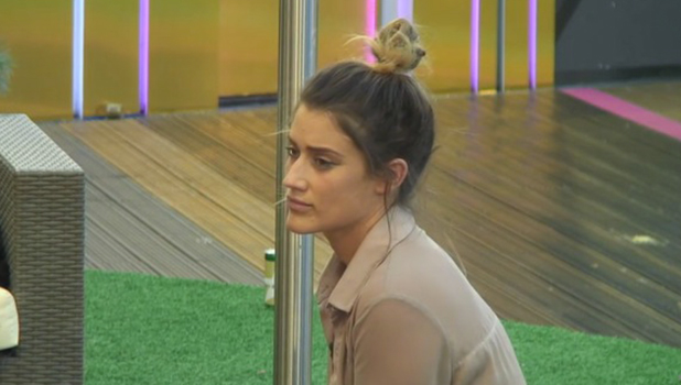 CBB: Katie thinks Lewis has paid her a backhanded compliment 19 August 2016