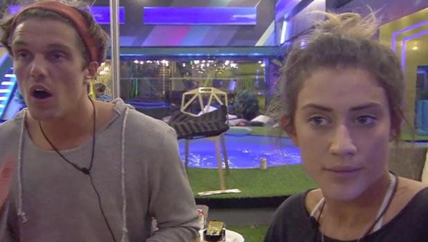 CBB: Lewis gives Katie a motivational speech 19 August 2016
