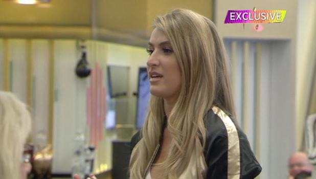 CBB: Lillie Lexie Gregg enters the house to confront ex boyfriend Bear 17 August 2016
