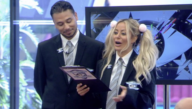 CBB: Aubrey and Ricky are Head Girl and Head Boy in new task 15 August 2016