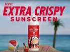 KFC are giving away free suncream that smells of fried chicken