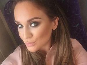 Vicky Pattison selfie on Instagram 20 August