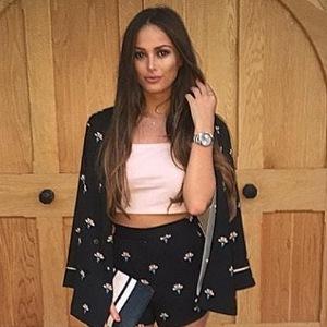 TOWIE's Courtney Green wearing Topshop, Instagram, 25 August 2016