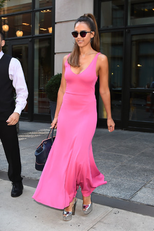 Jessica Alba seen out in SoHo on August 25, 2016 in New York City