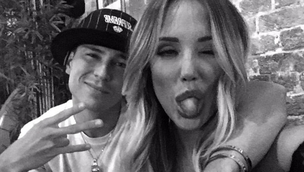 Charlotte Crosby and Joey Essex, Twitter 19 August
