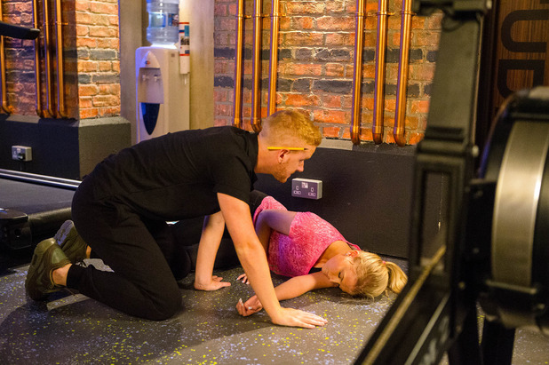 Corrie, Bethany collapses, Wed 24 Aug