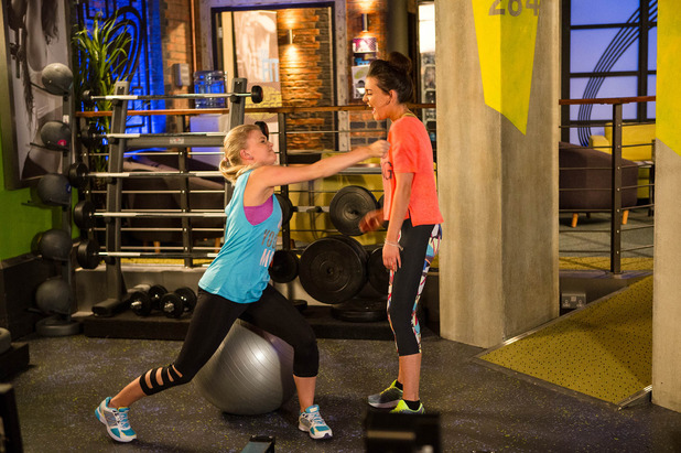 Corrie, Bethany punches Lauren, Fri 26 Aug