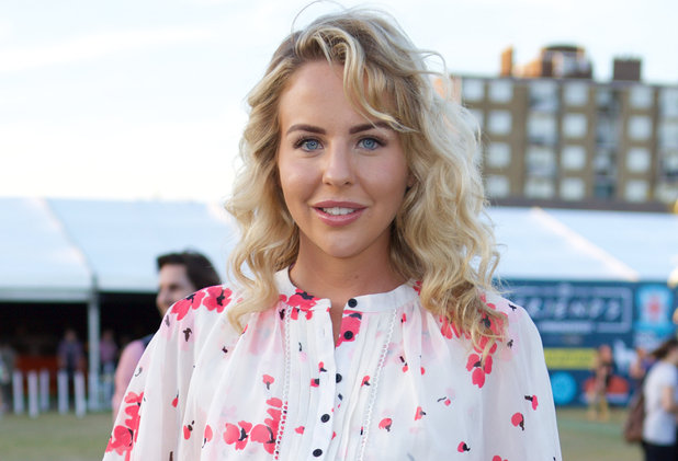 Lydia Bright attends the launch party for Comedy Central's FriendsFest, presented by The Luna Cinema at Haggerston Park 23 August