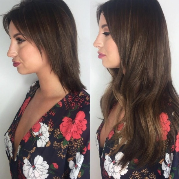 Ferne McCann shares more pictures of her natural hair - 22 August 2016