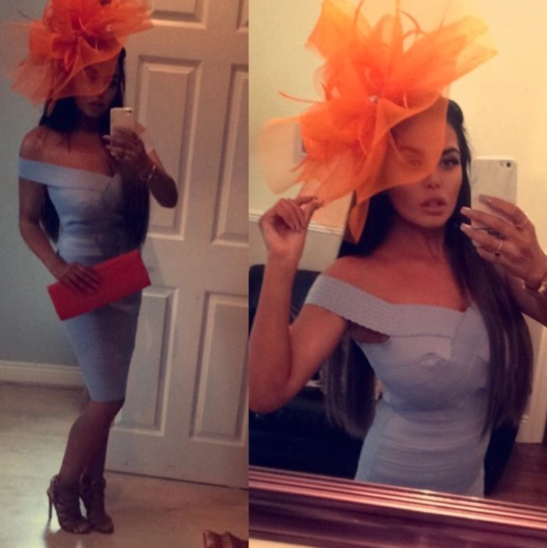 Gogglebox star Scarlett Moffatt shows off her races outfit and tiny frame, Instagram, 25 August 2016