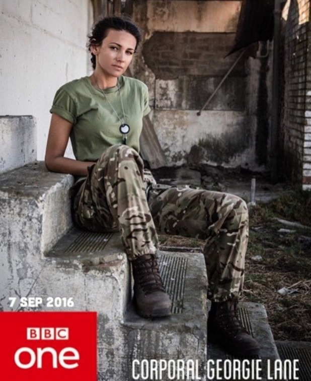 Michelle Keegan confirms start date of Our Girl - 22 Aug 2016