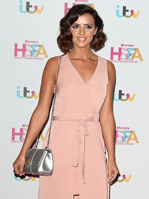 Lucy Meckleburgh at Lorraine Awards 2016