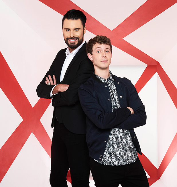 Rylan Clark-Neal and Matt Edmondson Xtra Factor 2016