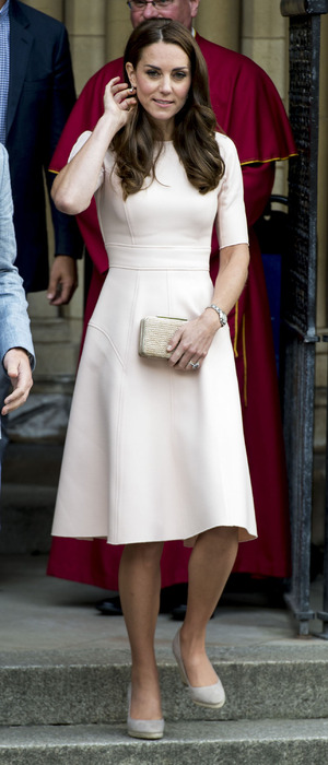 Kate Middleton, The Duchess of Cambridge on a visit to Truro, Cornwall, 1st September 2016