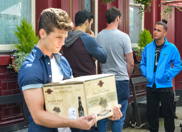 EastEnders, Shakil and Mark, Thu 1 Sep
