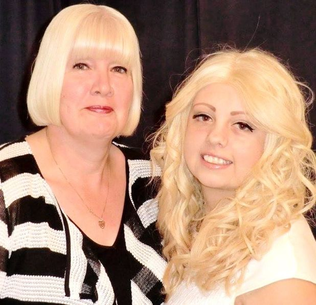 Natalie Turner and her mum Denise